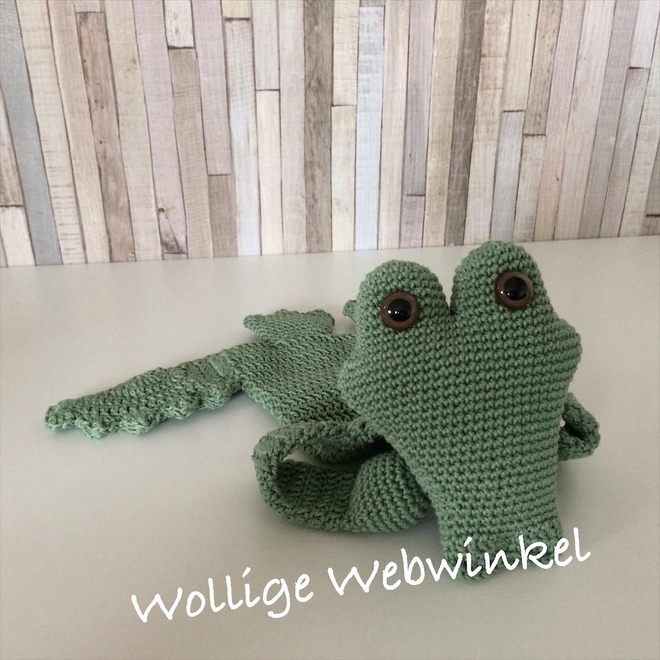 Lappenpop krokodil 2a