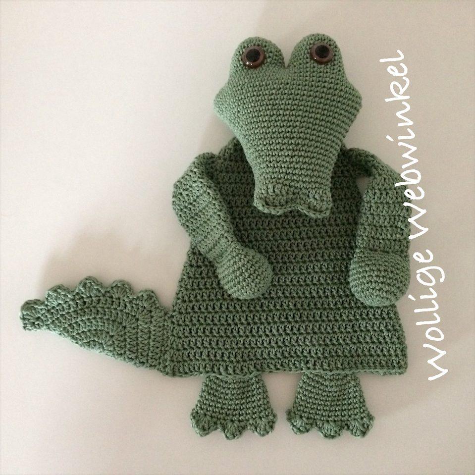 Lappenpop krokodil 2