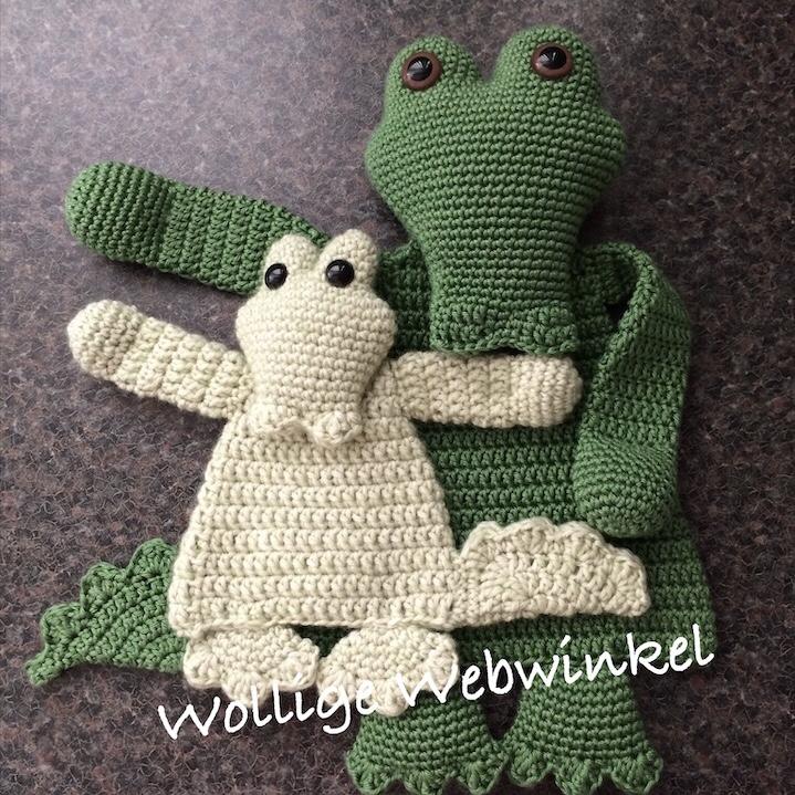 Lappenpop krokodil 1