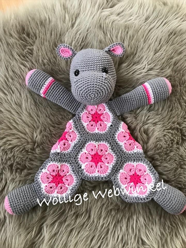 Knuffel Nijlpaard 2a