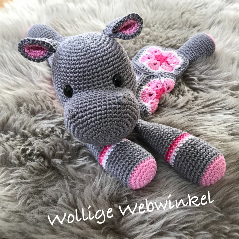 Knuffel Nijlpaard 2
