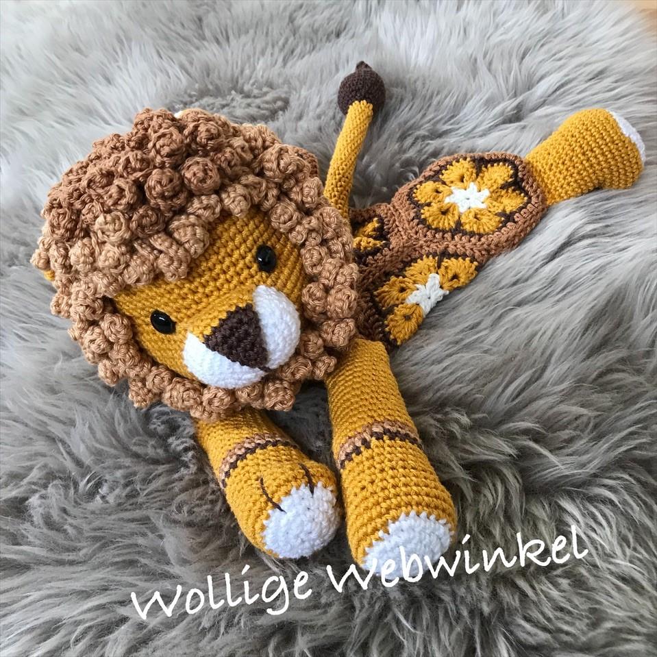 Knuffel Leeuw 1