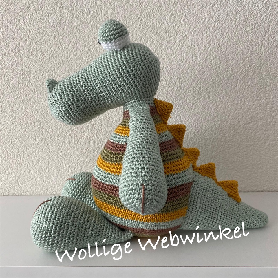 Krokodil Karel 3 | Wollige Webwinkel